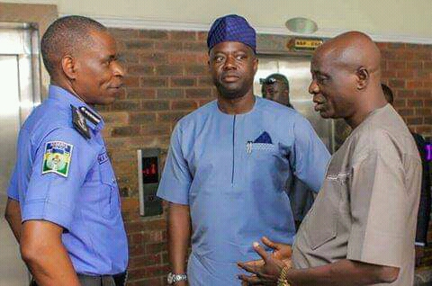 Makinde Visits IGP, Promise to Obey Rule Of Law