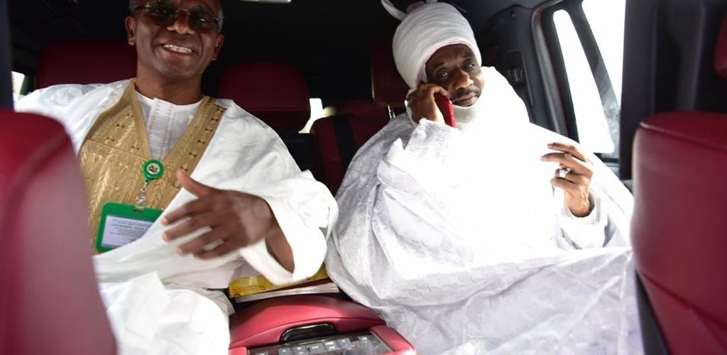 Deposed Emir Sanusi, El- Rufai On Their Way To Abuja