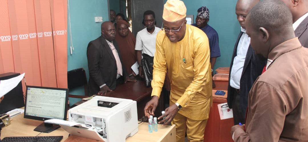 COVID 19: Oyo Govt. increases preventive measures at Parastatals  …embarks on stiffer measures against defaulters of operation-one-passenger