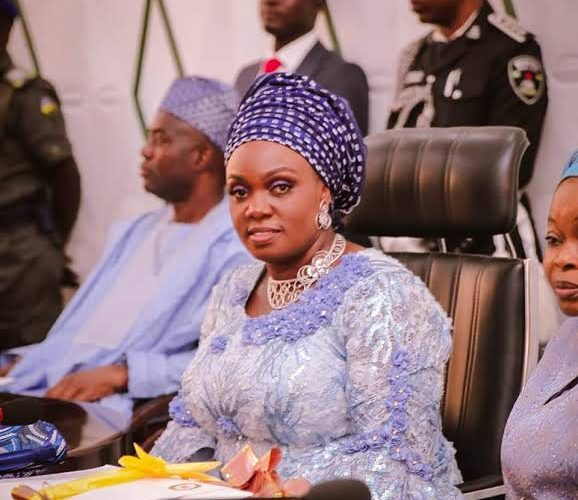 Oyo Governor's Wife Cautions On Violence Against Women