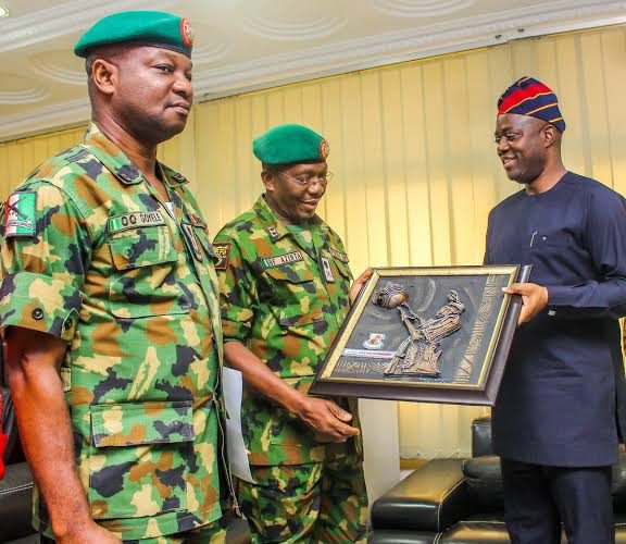 We'll Continue To Work With Nigerian Army To Make Oyo Safe – Makinde…Says Army twice saved him from imminent death