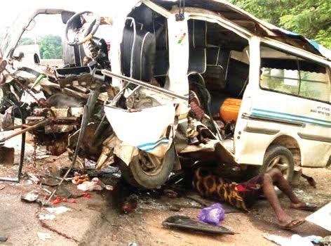 Another Accident In Ibadan, One Sustained Serious Injury