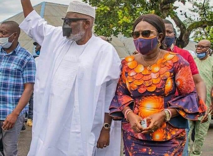 OndoDecides: Akeredolu Votes, Confident Of Victory