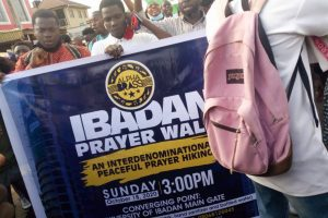 EndSARS: Ibadan Protesters Observes Prayer Walk, Seeks For God's Intervention