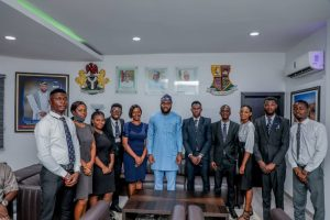 MAKE US PROUD : OGUNDOYIN TELLS OYO INDIGENES AT THE NIGERIAN LAW SCHOOL