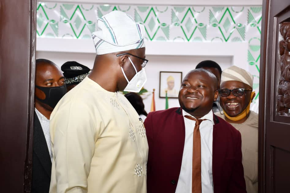 Oyo Governor, Makinde Celebrates Media Officer,Fasai Ismail At Birthday.
