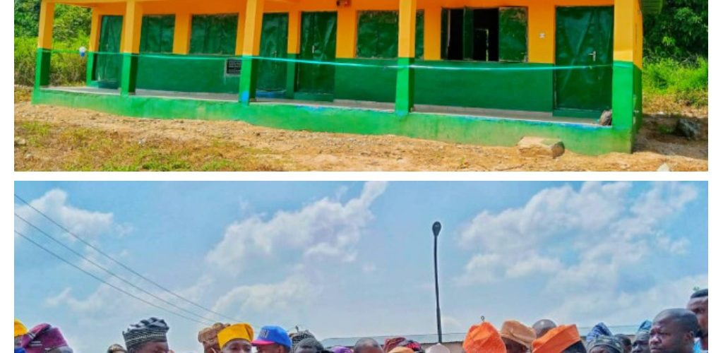 Lawmaker, Akande-Sadipe Empowers Constituents, Commissions Boreholes, Classrooms