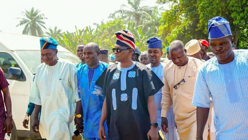 Oyo APC, ADC, PDP Unites At Salami Mother's Funeral