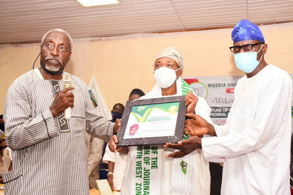 Criticism On Aregbesola's Investiture, Award,Political – NUJ